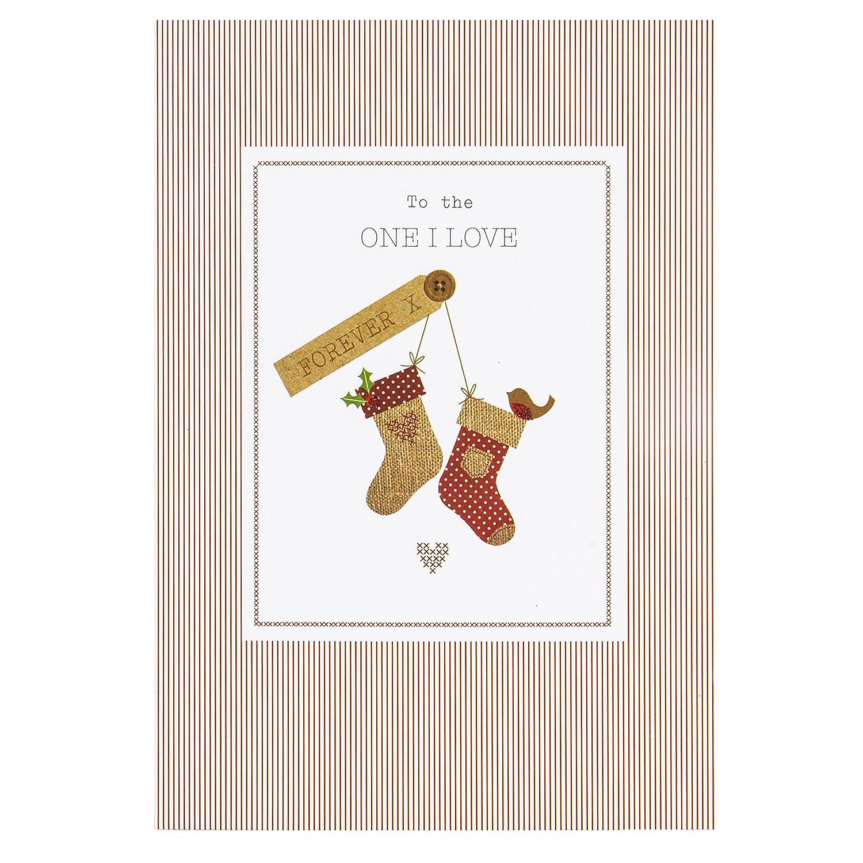 Hallmark Christmas Card To the One I Love \'I\'ll Always Love You ...