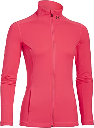 Under Armour Fitness - Trainingsanzug UA Studio Essential Jacket - Chaqueta técnica para mujer, color