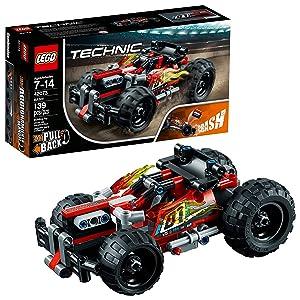 LEGO Technic BASH! 42073 Building Kit (139 Pieces) (Renewed)