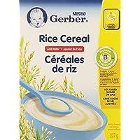 Gerber Baby Cereal, Rice, Add Water, 227-Gram