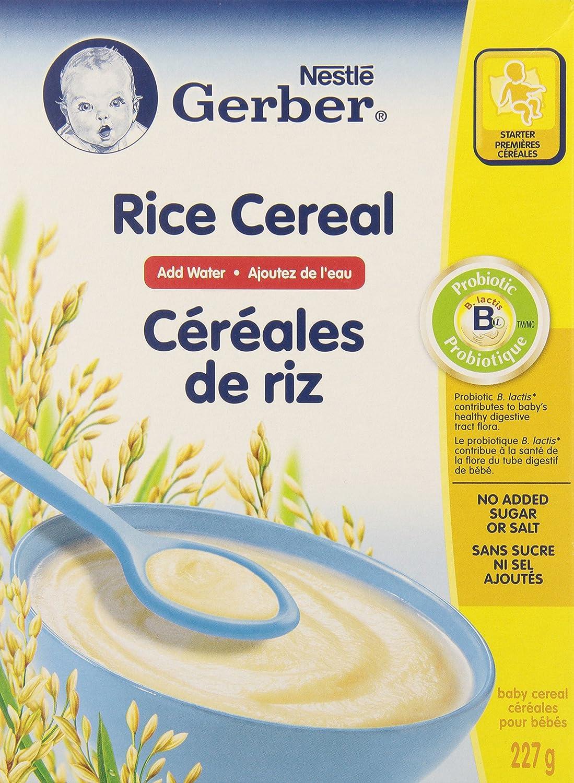 Gerber Baby Cereal, Rice, Add Water, 227-Gram Nestle Canada