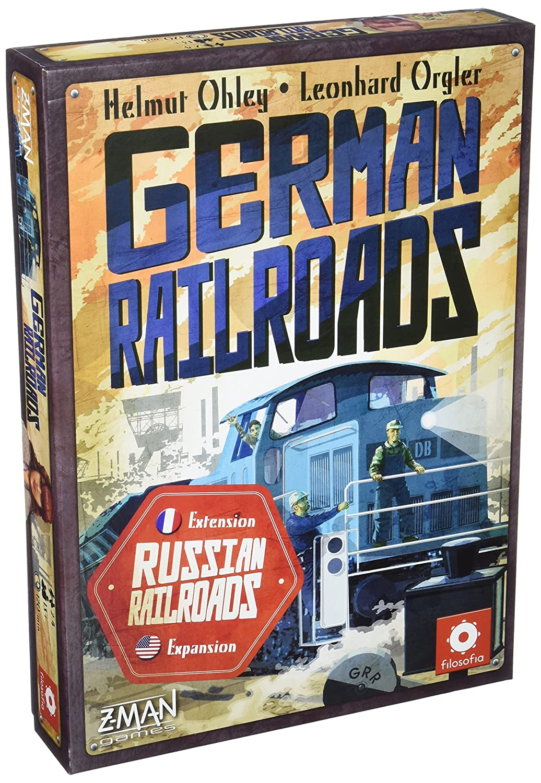 German Railroad Board Game Publisher Services Inc PSI 71391ENFRZMG
