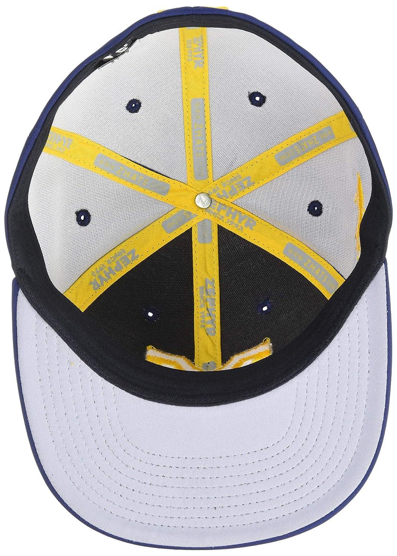 Primary Team Color X-Large NCAA Zephyr Michigan Wolverines Mens Fleet Hypercool Performance Hat