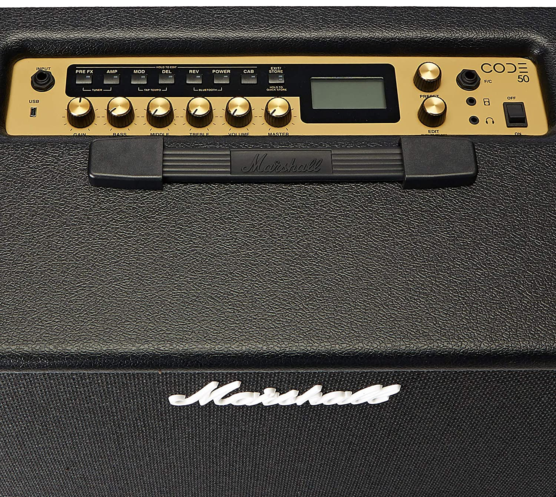 Marshall Code 50 amplificador digital para guitarra 1 x 12 50 W: Amazon.es: Juguetes y juegos