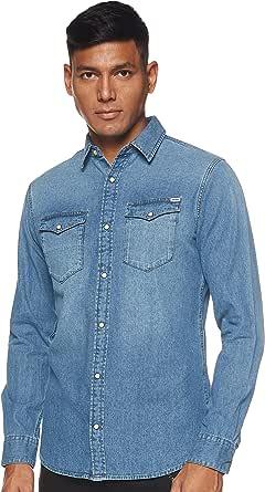 Jack & Jones Jjesheridan Shirt L/S Camisa Vaquera para Hombre