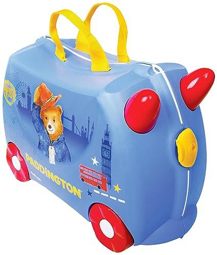 d0a8f3408 Trunki Maleta correpasillos y equipaje de mano infantil: Oso Paddington ( Azul)