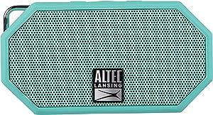 Altec Lansing IMW257-MT Mini H2O Wireless Bluetooth Waterproof Speaker, Floating IP67 Waterproof, Boat, Hiking, Golf Cart, Atv, Utv, Lightweight, 6-Hour Battery Life, (Mint)
