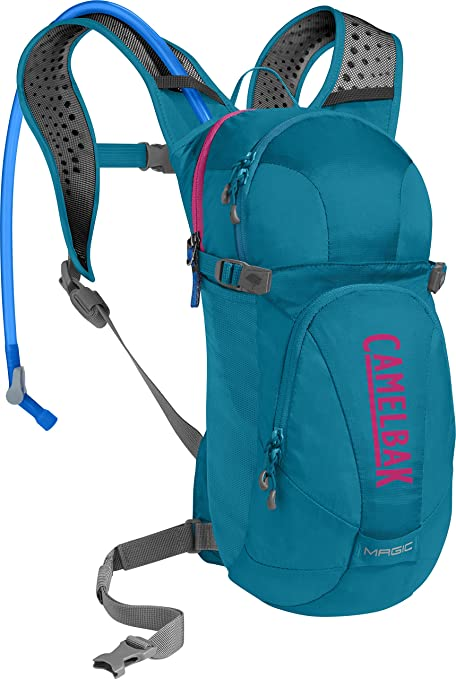 10df655fdc0 Camelbak Magic 70-Ounce Hydration Pack, Teal/Pink: Amazon.ca: Sports ...