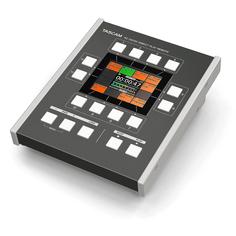 売上実績NO.1 TASCAM リモートコントロールユニット RC-SS150 TASCAM B06XD1RMQ5 B06XD1RMQ5, ウジイエマチ:3a7ffaf1 --- arianechie.dominiotemporario.com