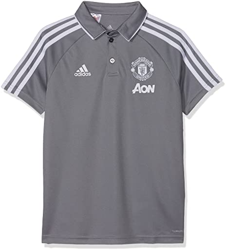 f81b4358e Image Unavailable. Image not available for. Color: adidas 2017-2018 Man Utd  Training Polo ...