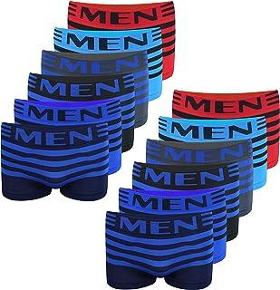 PiriModa 6/12 Pack Kinder Jungen Boxershorts Junge Boxer Unterhose Unterwäsche Mikrofaser Slips Schlüpfer 2-16 Jahre 92-170 Kinder Boxer