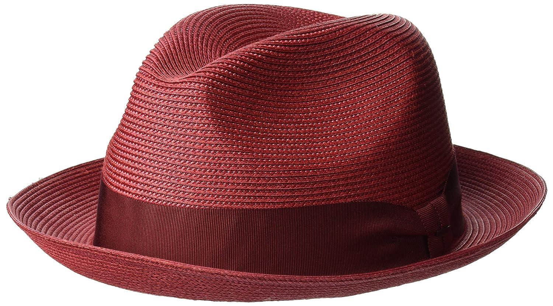 2dc303a7386 Bailey of Hollywood Men s Craig Braided Fedora Trilby Hat 81717BH