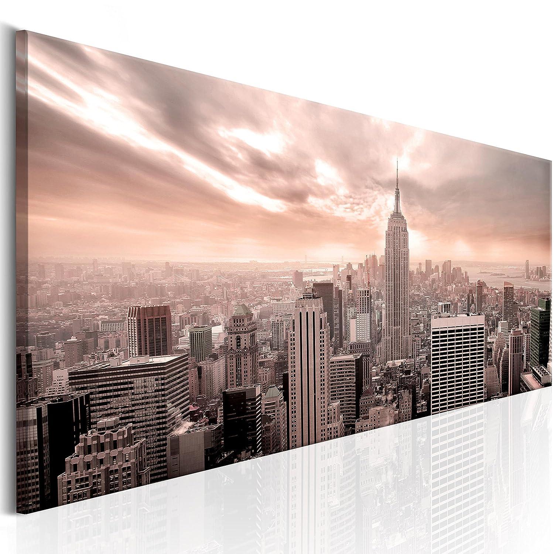 murando - Cuadro en Lienzo 120x40 cm - New York Cityy - Impresion en calidad fotografica - Cuadro en lienzo tejido-no tejido - Ciudad d-B-0081-b-b: ...