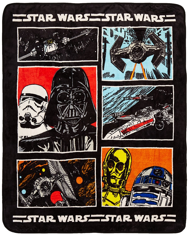"Disney Star Wars Classic 46"" x 60"" Throw"