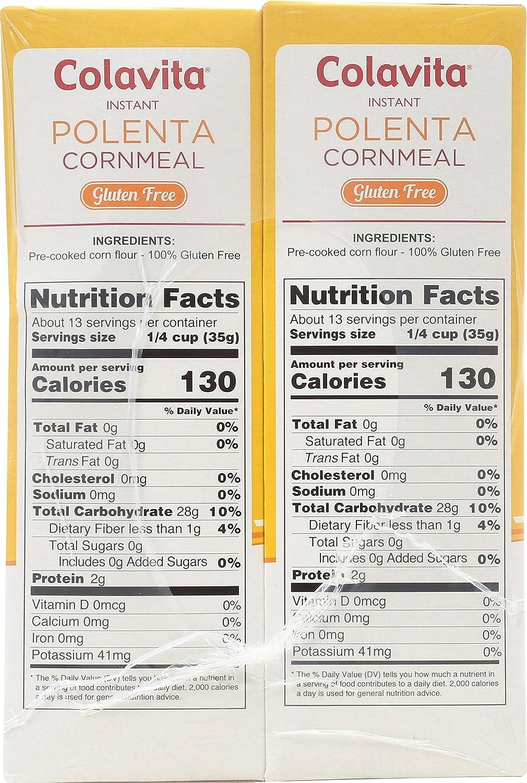 Amazon.com : Colavita Instant Polenta Cornmeal, 16 Ounce (Pack of 6 ...