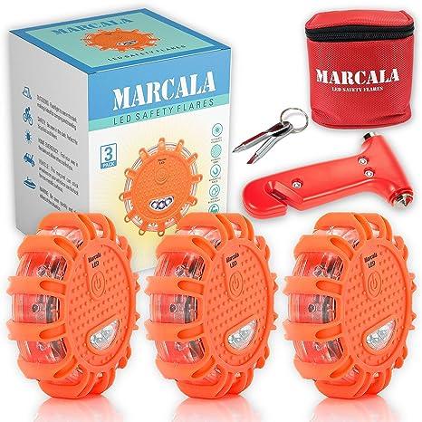 Amazon.com: MARCALA - Juego de luces LED de emergencia para ...