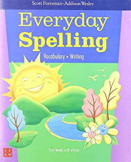 Everyday spelling 2008 student edition consumable grade 4 scott customers who viewed this item also viewed fandeluxe Images