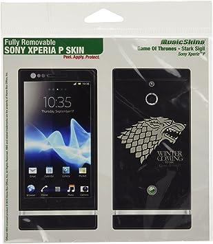 MusicSkins de Juego de Tronos Skin para Sony Xperia P: Amazon.es: Electrónica