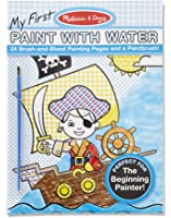melissa doug my first paint with water kids art pad with paintbrush pirates - Paint With Water Coloring Books