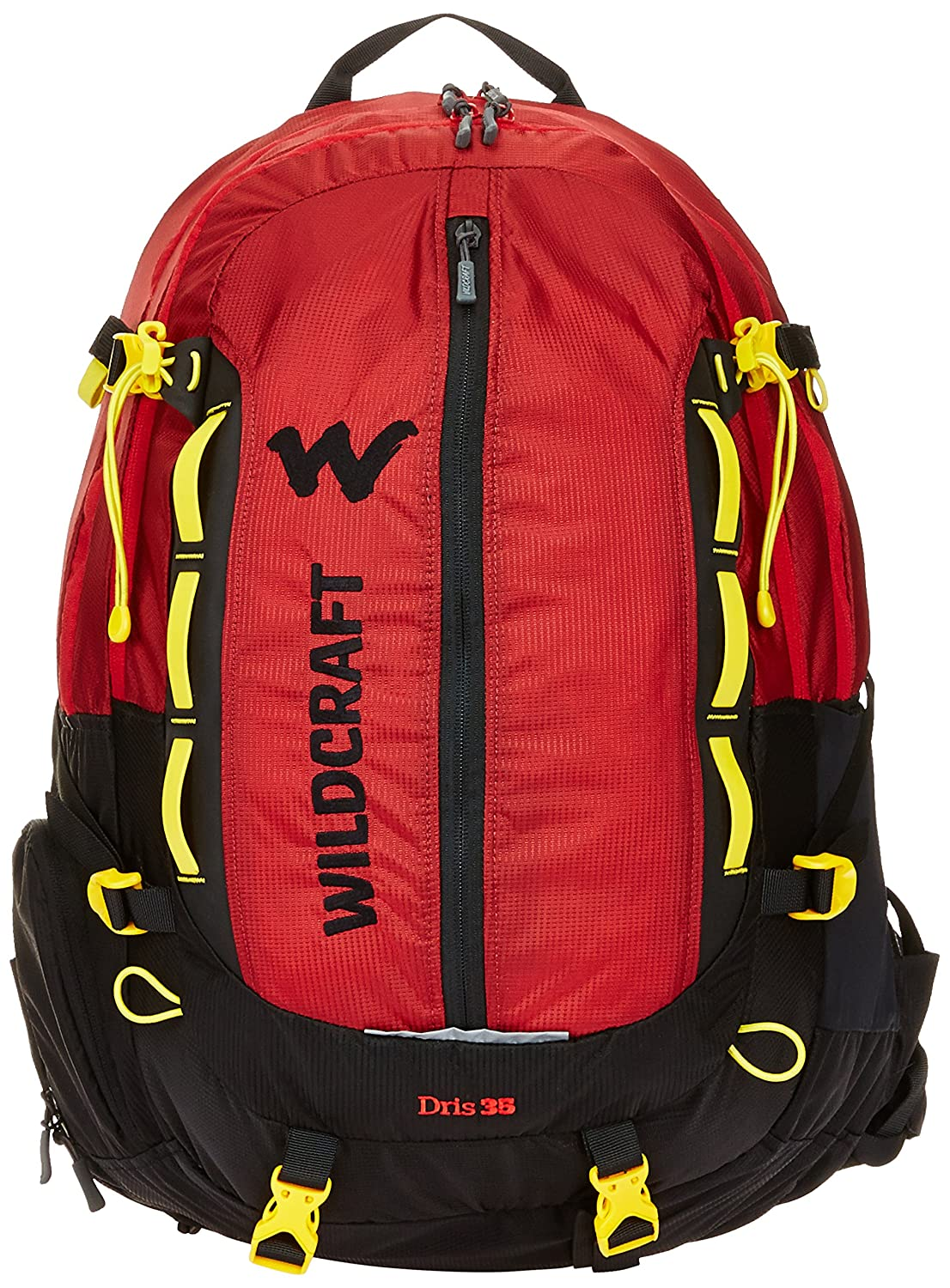 Wildcraft HypaDura 35 liters Red Casual Backpack (8903338049456)