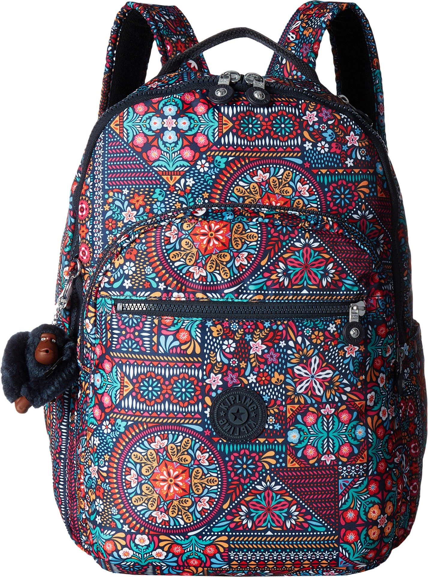 Seoul L Printed Laptop Backpack Backpack, DZDRLNGMLT, One Size