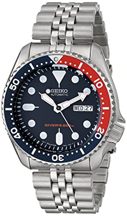 seiko men s skx175 stainless steel automatic dive watch amazon co seiko men s skx175 stainless steel automatic dive watch