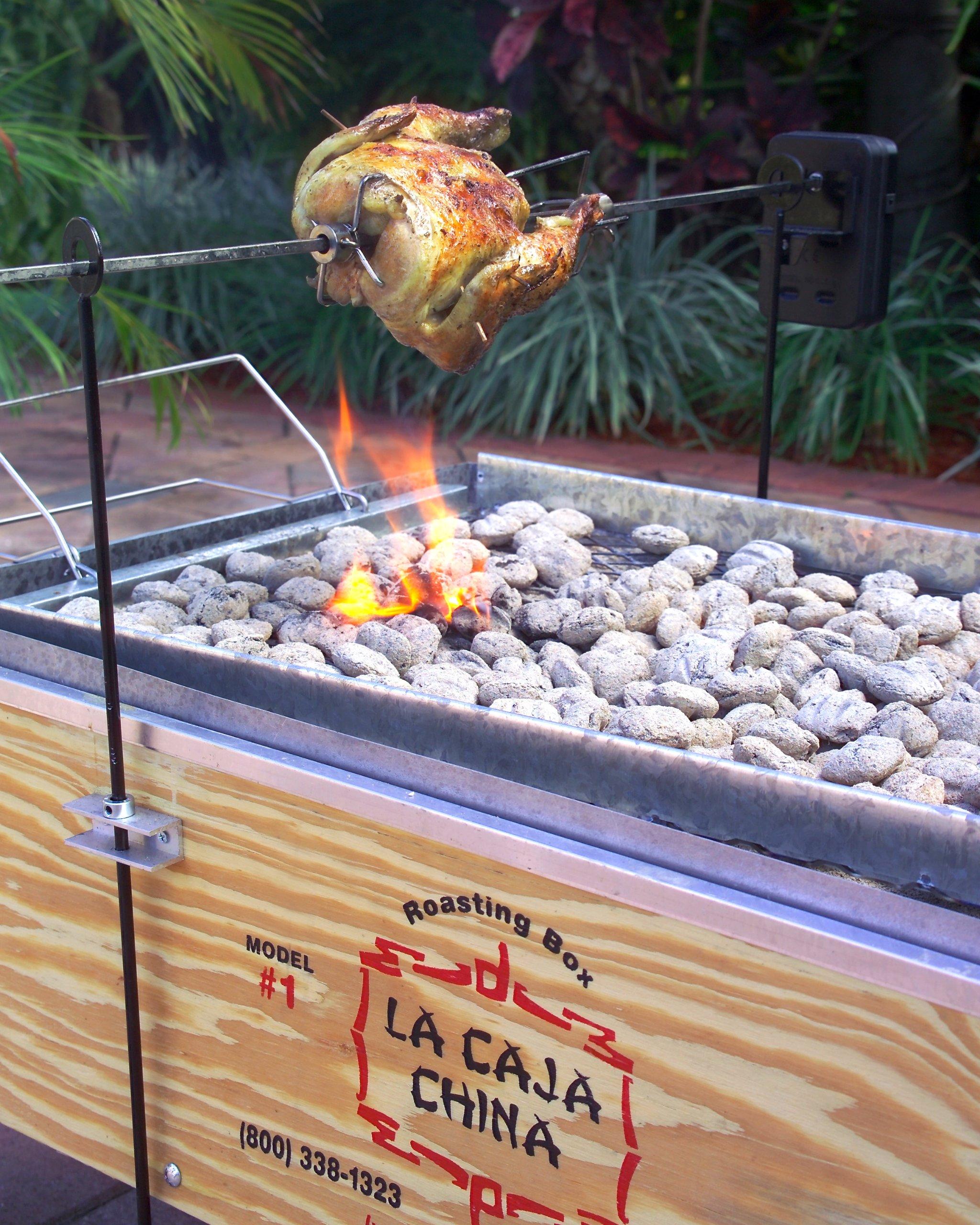 La Caja China Rotisserie Kit by La Caja China