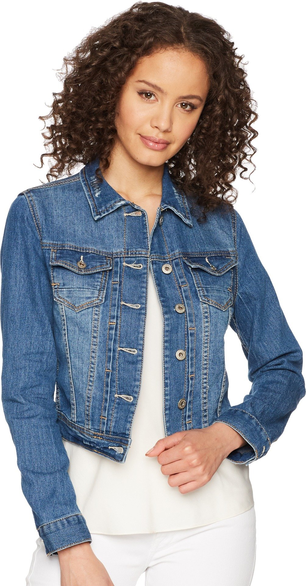 UNIONBAY Women's Lucas Denim Jacket, Cove, Medium by UNIONBAY (Image #1)