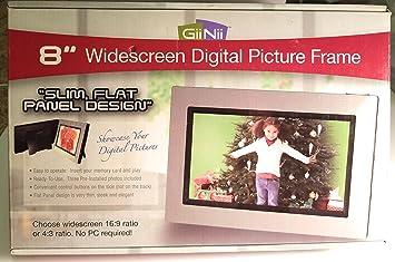 Giinii 8 Widescreen Digital Photo Frame