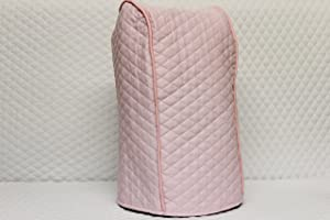 Ninja blender cover - Quilted Double Faced Cotton, Pink