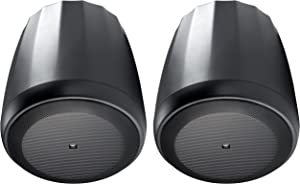 JBL Professional C67P/T Extended Range Full-Range Hanging Pendant Speaker, Black, Sold as Pair