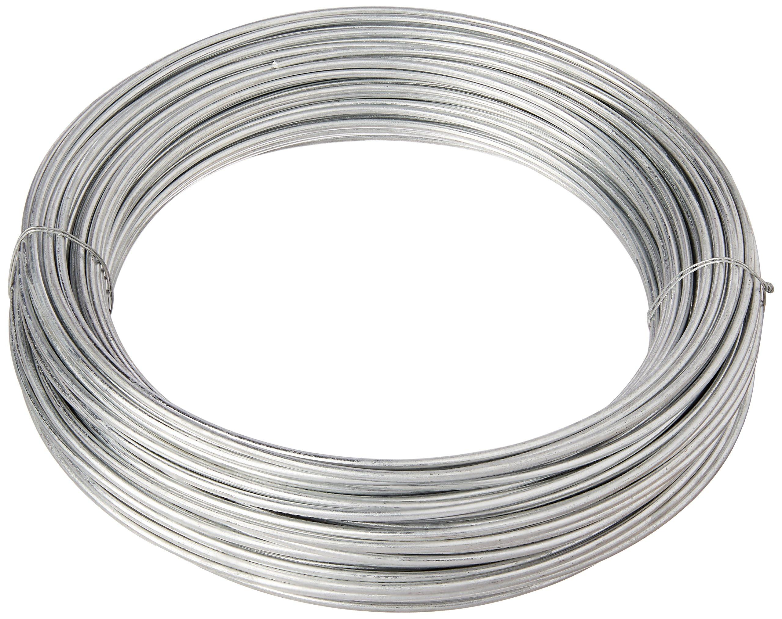 HILLMAN FASTENERS 123174 9 Gauge Smooth Wire, 170'