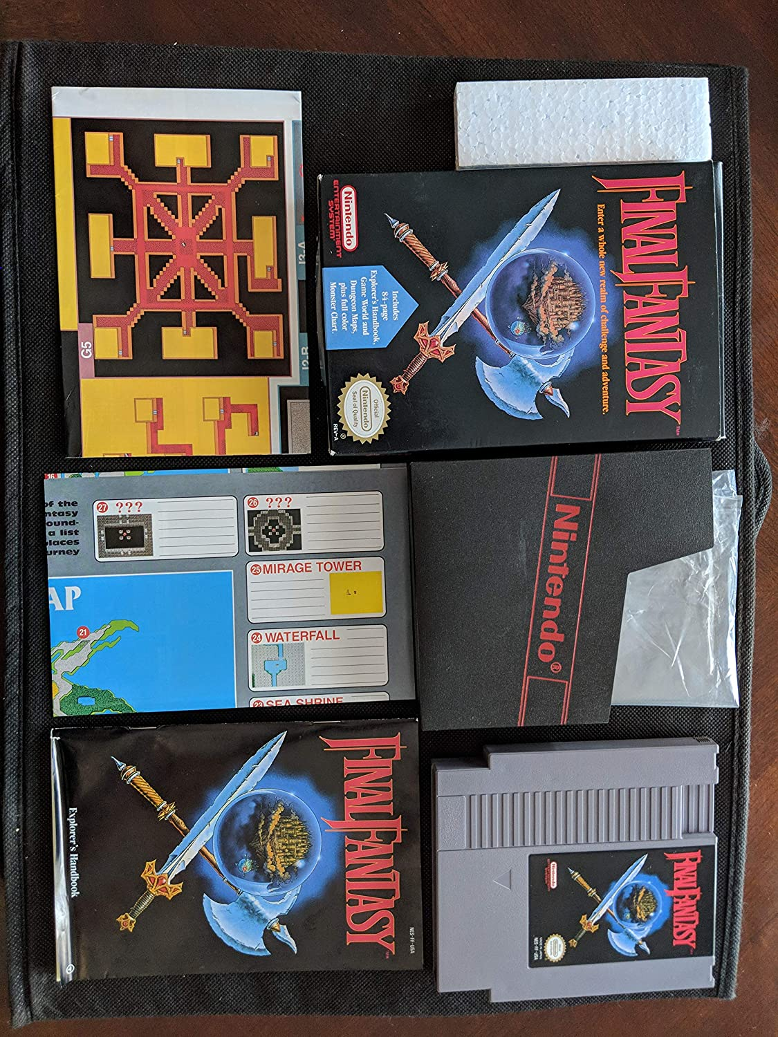 New Video Games & Consoles Honest Set Of 5 Nes Game Cases
