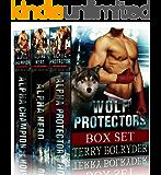 Wolf Protectors Series Boxed Set: BBW paranormal romance