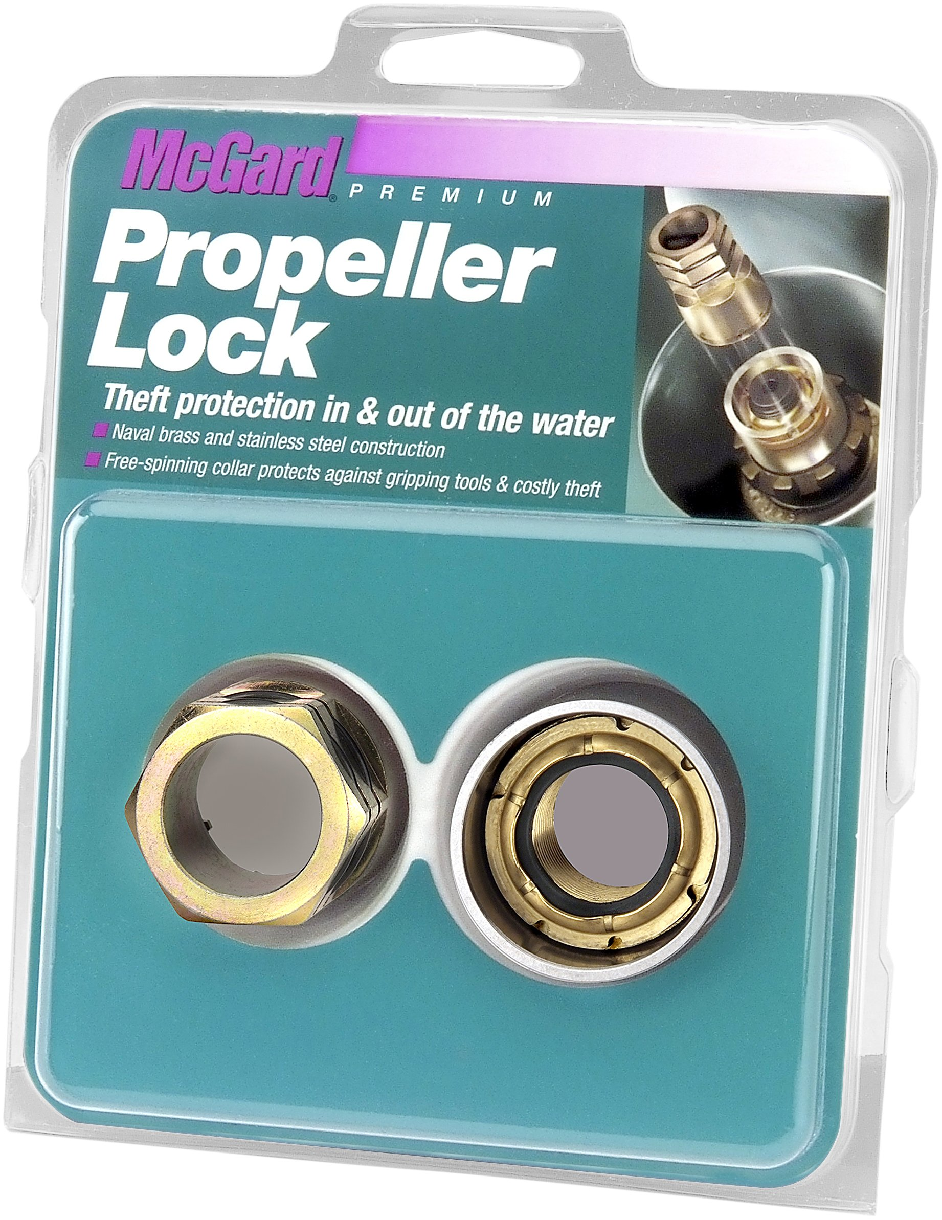 McGard 74058 Marine Propeller Lock Set (1''- 14 Thread Size) - MerCruiser SSM - Set of 1