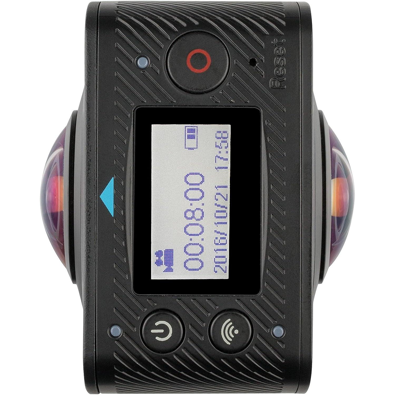 Kitvision Edge HD30W Waterproof Full HD 1080p Wasserfeste Sport Kamera Action Camera mit Wi-Fi/WLAN, Umfangreichem Halterungsset und Wasserdichtem Gehä use - Schwarz KVEDGE30W