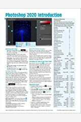 Adobe Photoshop 2020 Introduction Quick Reference Guide (4-page Cheat Sheet of Instructions, Tips & Shortcuts - Laminated Card) Pamphlet