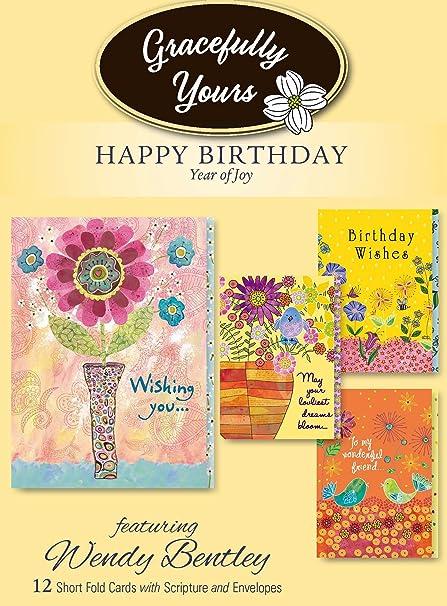 Amazon Gracefully Yours Year Of Joy Birthday Greeting Cards