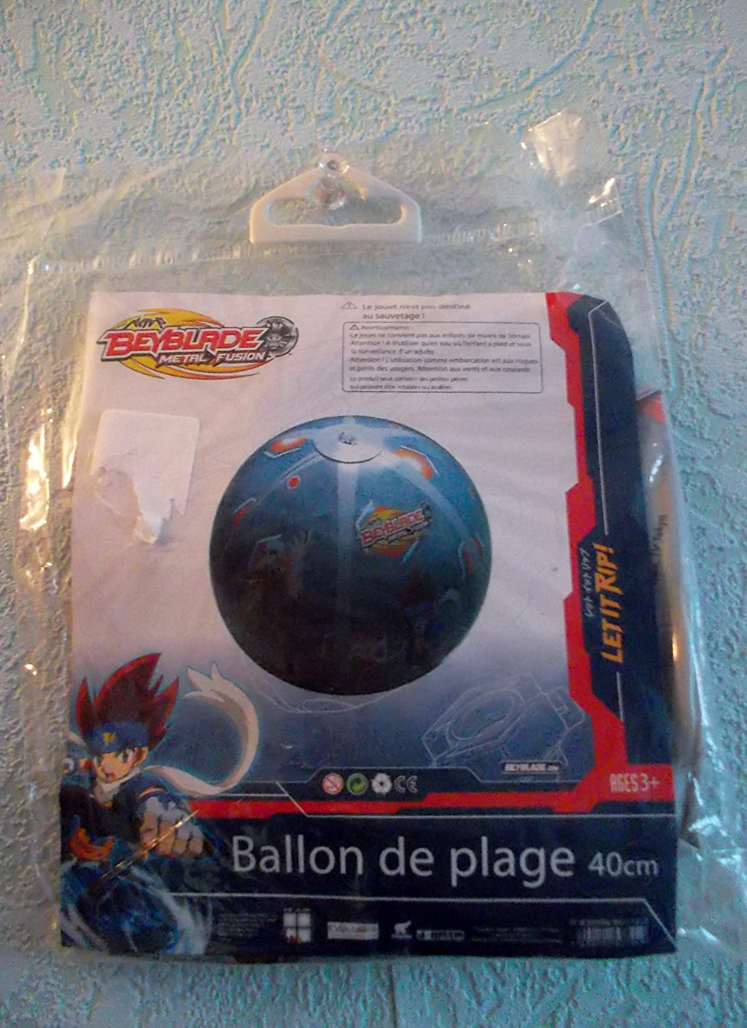 Hasbro Balón Hinchable de Playa Beyblade 40 cm: Amazon.es ...