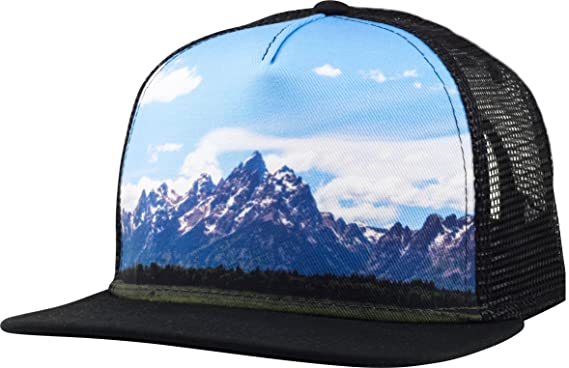 14e9940133c7d9 Lindo Cool Trucker Hat - Mountains by (one Size) at Amazon Men's Clothing  store: