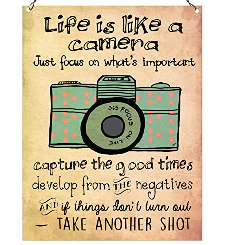 Dorothy Spring Life Is Like A Camera Cute Inspirational Quote Wall Stunning Cute Inspirational Quotes