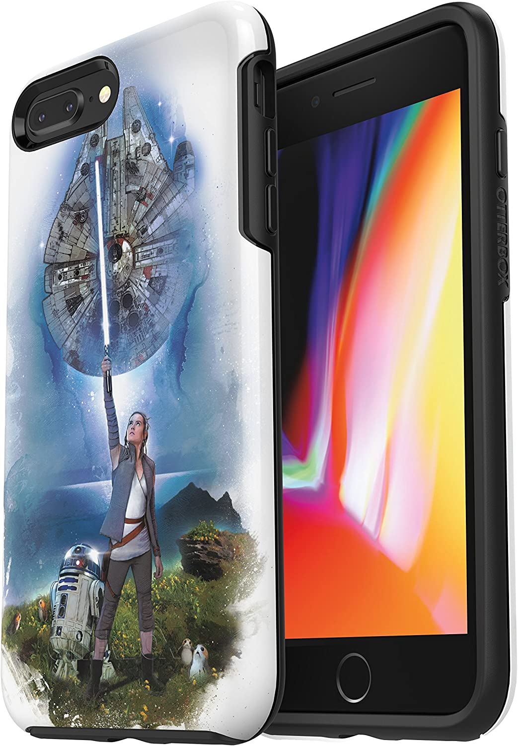 OtterBox SYMMETRY SERIES STAR WARS Case for iPhone 8 PLUS & iPhone 7 PLUS (ONLY) ON AHCH-TO
