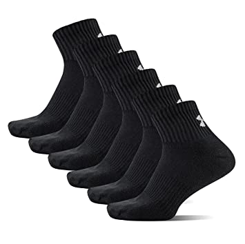 Under Armour UA Charged Cotton 2 Quarter, Calcetines para Hombre: Amazon.es: Deportes y aire libre