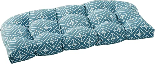 Quality Outdoor Living 29-BD1SLV Tufted Loveseat/Bench Cushion