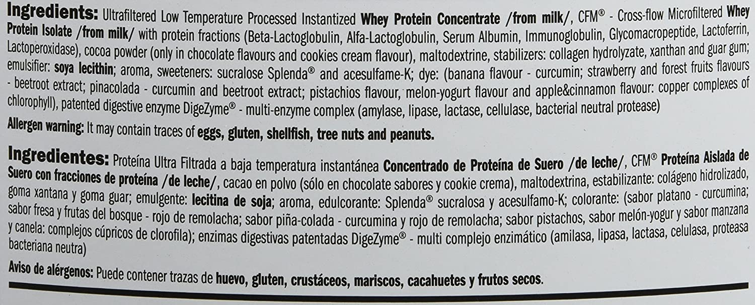 Amix Whey Pure Fusion Proteínas - 2300 gr_8594159532984