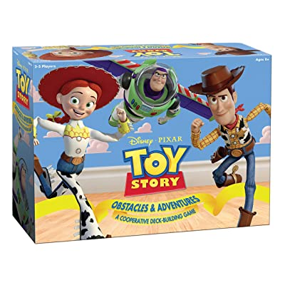 Disney Pixar Toy Story Cooperative Deck-Building Game | Family Board Game Featuring Characters and Artwork from Toy Story Movies and Short Films | Officially Licensed Disney Pixar Merchandise: Toys & Games