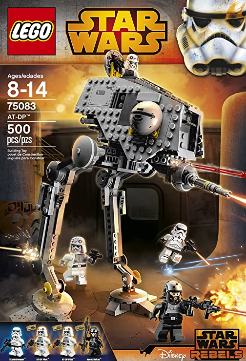 Amazon.com: LEGO Star Wars AT-DP Juguete (suspendido por el ...