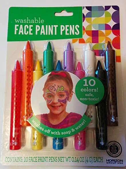 Face & Body Paint Markers Application: