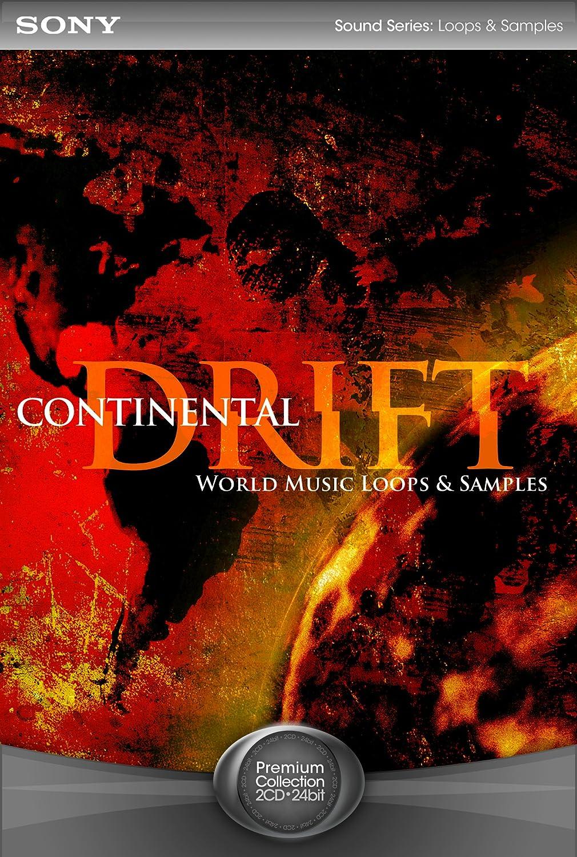 Continental Drift: World Music Loops & Samples [Download] Sony Creative Software DLC397MAC
