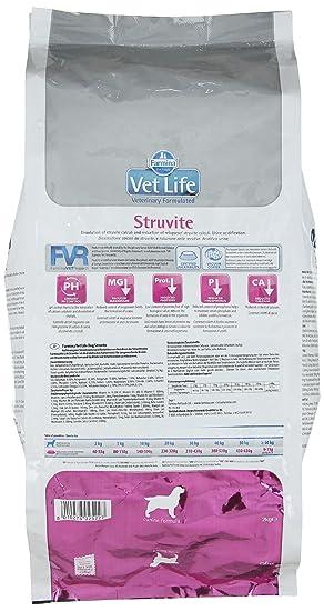 Vet Life struvite Dog, 1er Pack (1 x 2 kg): Amazon.es: Productos para mascotas